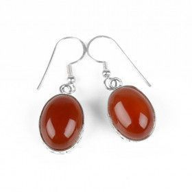Natural Carnelian Earrings