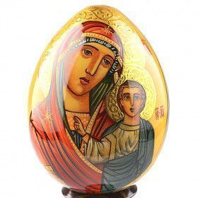 Kazanskaya Mother Of God Icon Egg