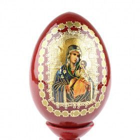 Madonna and Child Russian Egg