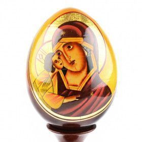 Holy Mother with Jesus Egg