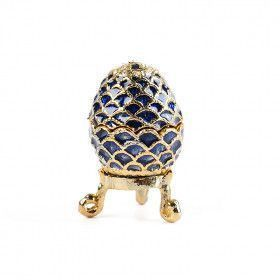 Blue Mini Faberge Egg Box