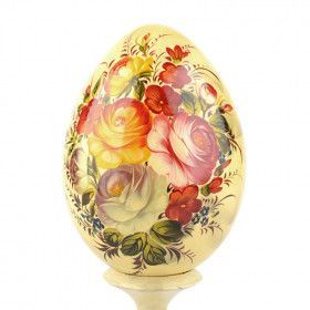 Zhostovo Decorative Egg