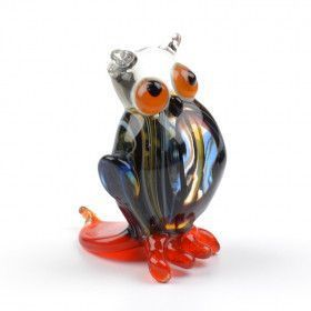 Night Owl Miniature Glass Figurine