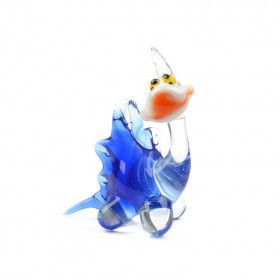 Cute Little Dinosaur Glass Figurine