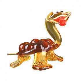 Goofy Sea Turtle Glass Figurine
