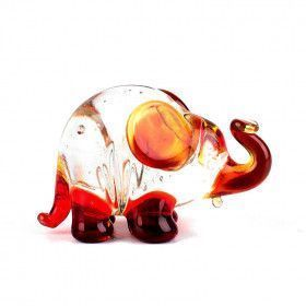Mini Glass Elephant