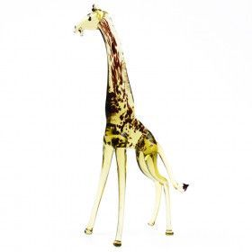 "6"" Tall Glass Giraffe Figurine"