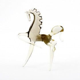 Miniature Stallion Glass Figurine