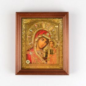 Our Lady of Jerusalem Icon