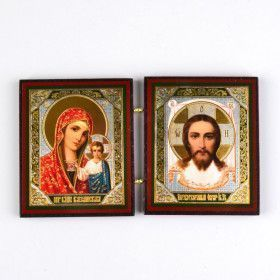 Jesus & Virgin Of Kazan Travel Icon