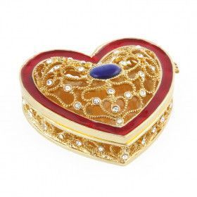 Valentines Heart Trinket Box