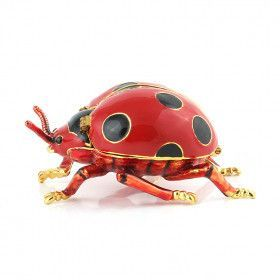 Lady Bug Trinket Box