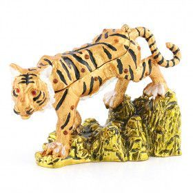 Wild Tiger Trinket Box