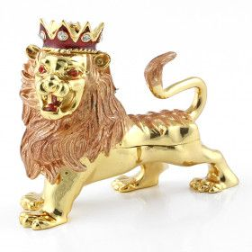 King Lion Keepsake Box