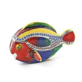 Rainbow Fish Trinket Box