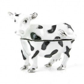 Dairy Cow Trinket Box