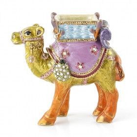 Arabian Camel Jeweled Trinket Box