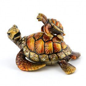 Turtle Family Trinket Box Set