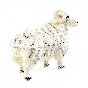 White Sheep with Rhinestones