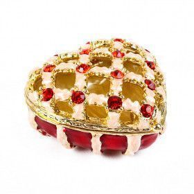 See Through Heart Keepsake Box