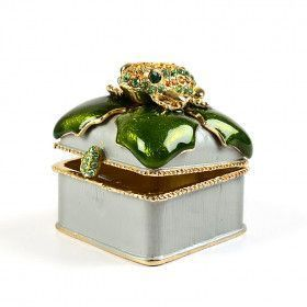 Trinket Box with Frog