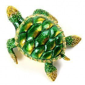 Magnificent Sea Turtle Keepsake Box