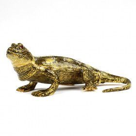 Large Handsome Lizard Trinket Box