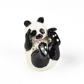 Playfull Panda Bear Keepsake