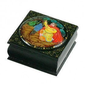 Russian Lacquer Box - Frog Princess