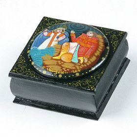 Russian Lacquer Box - Fairytale