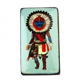 Native American Sun Kachina Box