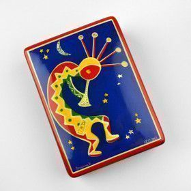 Bright Kokopelli Box