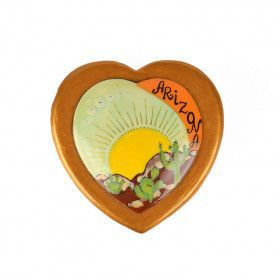 Heart Shaped Arizona Lacquer Box