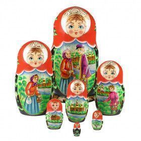 Easter Fun Matryoshka Doll 7 Pcs