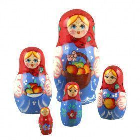 Fruit Basket Stacking Doll