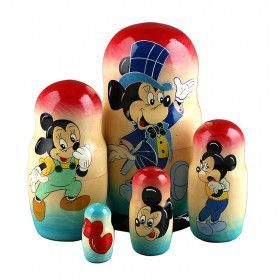 Mickey Mouse Nesting Doll