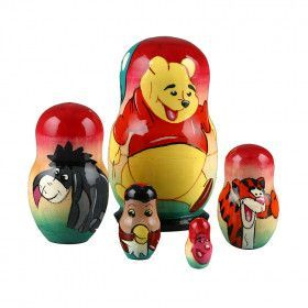 Winnie The Pooh Nested Doll