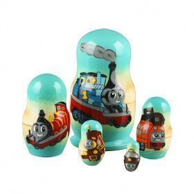Thomas the Train Engine Nesting Dolls