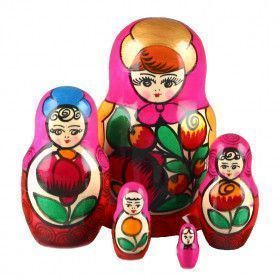 Flower Maiden Matryoshka Doll
