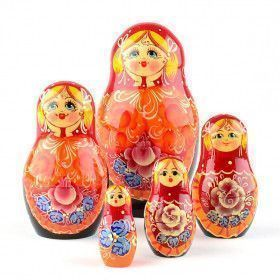 In Love Russian Matryoshka