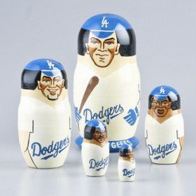 Los Angeles Dodgers Nesting Doll