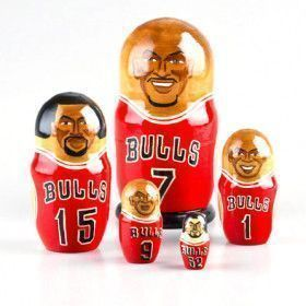 Chicago Bulls Nested Doll
