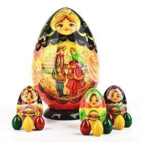 Nesting Doll Egg Russian Easter