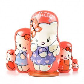 Small Hello Kitty Nesting Doll