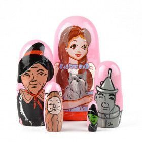 Small Wizard Of Oz Matrioshka