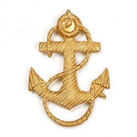 Russian Naval Anchor Pin