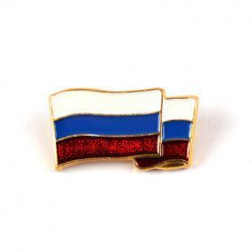 Small Russian Federation Flag Pin