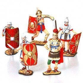 Roman Legionnaires Tin Soldiers Set
