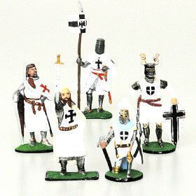 Teutonic Knight Tin Soldiers Set