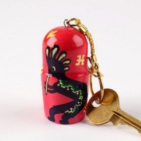 Pink Southwest Key Chain